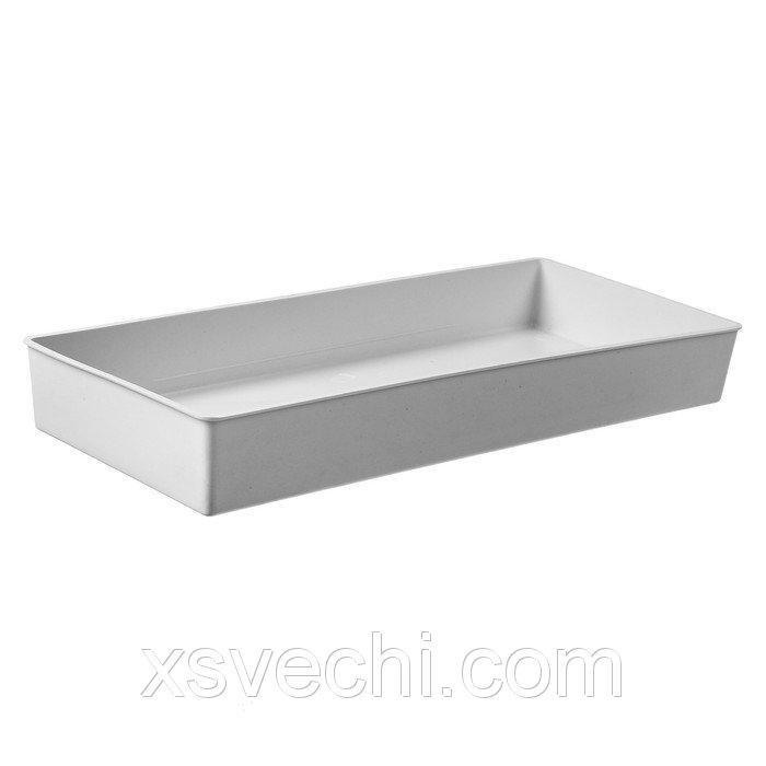 "Ящик для рассады, 40 х 17.5 х 5 см, цвет МИКС, ""Профи"""