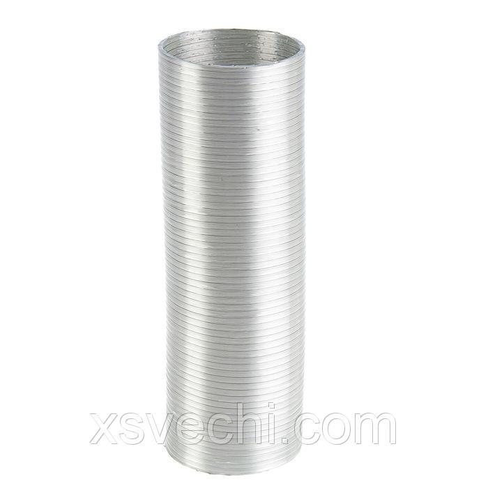 Канал алюминиевый, гофрированный, d=100 мм, 3 м