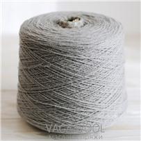 Пряжа City, 013 Платина, 191м/50г, шерсть ягнёнка, шёлк, Vaga Wool