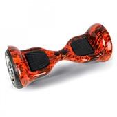 Гироскутер Smart Balance SEV 10 дюймов APP+Balance красный огонь