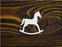Лошадка-качалка Единорог