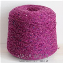 Пряжа Твид Soft Donegal Иван-чай 5526, 190м в 50 г. Knoll Yarns, Liscannor