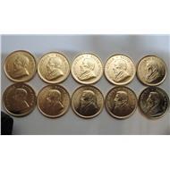 Крюгерранд 2014, 1 Oz, юар, золото