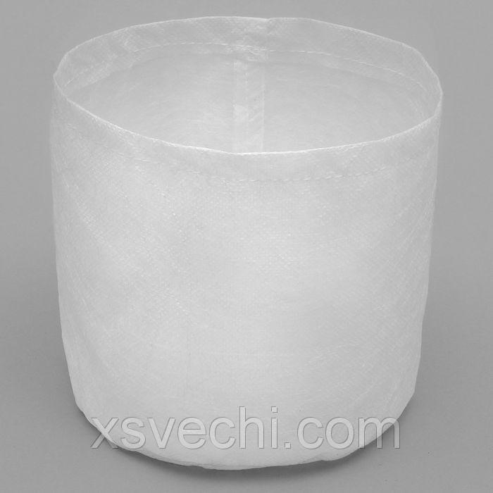 Мешок-горшок, 10 л, белый, 24 х 24 см