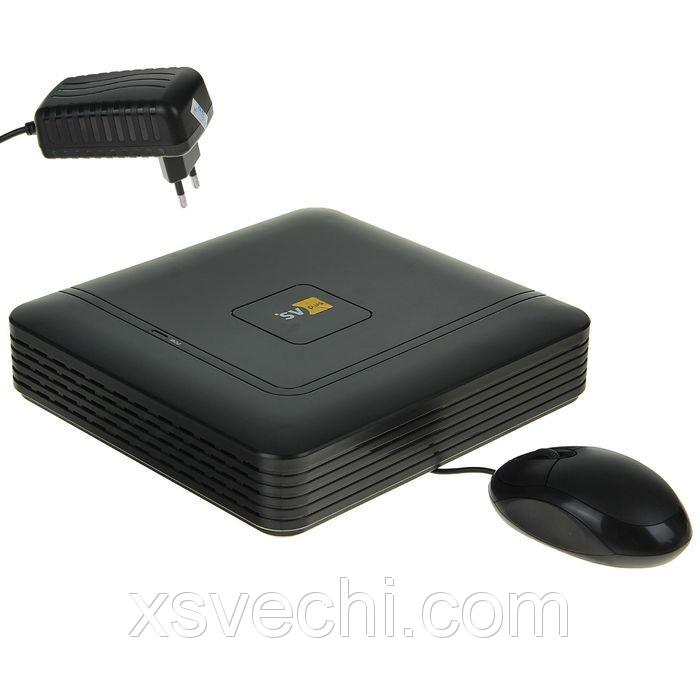 Видеорегистратор IP SVplus SVIP-N304, 4 канала, запись до 1080 Р