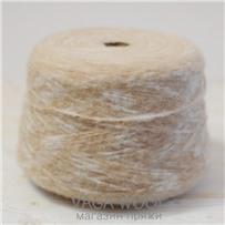 Пряжа Gepard Кремово-белый, 150м/50г, Lama Lima