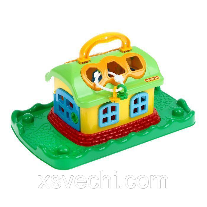 Игрушка «Сказочный домик на лужайке»