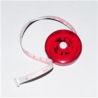 Сантиметр-рулетка цвет Красный, KA Seeknit, Red, 06206