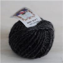 Пряжа Кашемир Wiki Soft, Серый темный 51, 45м в 25г