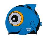 Шапочка для плавания AWT Fish Punk/Blue, силикон, 91915 10
