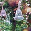 Новогодняя Led гирлянда на елку 3 м 40 ламп колокольчики