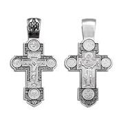 Крест серебряный  № 03316, серебро 925°