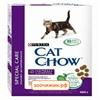 Сухой корм Cat Chow для кошек профилактика комочков шерсти (400г)
