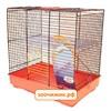 "Клетка Inter-Zoo 014 ""Teddy I"" (37*25*38,5) пластик для грызунов"