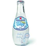 Упаковка газированного сокосодержащего напитка SanPellegrino Acqua Tonica (тоник) 0,2 в стекле - 24 шт.