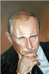 """Картина """"Портрет Путина В.В."""""""