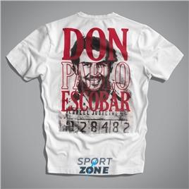 Мужская футболка US ESCOBAR WHITE UNCLE SAM
