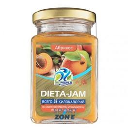 Джем BioMeals Dieta-Jam, абрикос