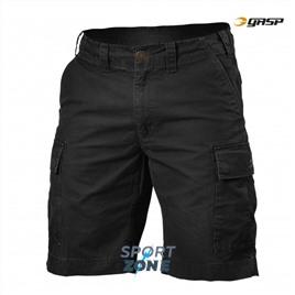 Уличные шорты GASP Rough Cargo Shorts, Washed Black