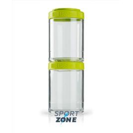 Шейкер для спортивного питания BlenderBottle GoStak зелёный