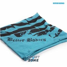 Повязкана голову Better Bodies Head wrap голубая /черный