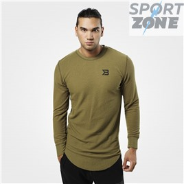 Кофта с длинным рукавом Better Bodies Harlem Thermal LS, Military Green