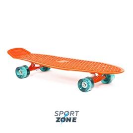 """Скейт пластиковый 27X8"""" оранжевый"""