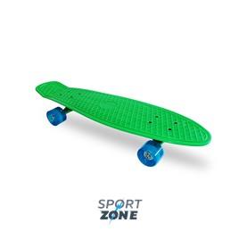 "Скейт пластиковый 27X8"" зелёный"
