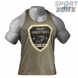 Майка мужская Gasp Gym T-Back, Wash Green