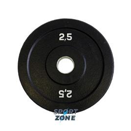 Диск бамперный 2,5 кг (черный)