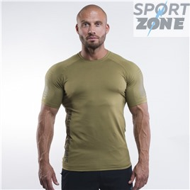 Футболка Better Bodies Performance PWR Tee, Military Green