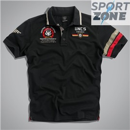 Мужская футболка поло US AIRFORCE II BLACK UNCLE SAM