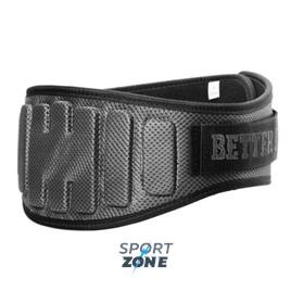 Атлетический пояс Better Bodies Pro lifting Belt, серый