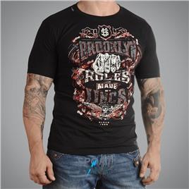 Мужская футболка US RULES BLACK UNCLE SAM