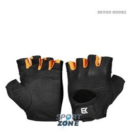 Перчатки Better bodies Womens Traning Glove, Black/Orange