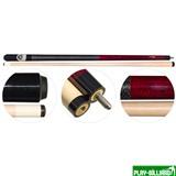 Кий для пула 2-pc «Magnum Classic» (красный), интернет-магазин товаров для бильярда Play-billiard.ru