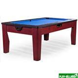Многофункциональный игровой стол 6 в 1 «Tornado» (коричневый), интернет-магазин товаров для бильярда Play-billiard.ru