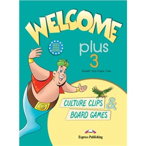 Welcome Plus 3. Culture Clips & Board Games. Beginner. Настольные игры