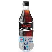 Coca-Cola Zero (Великобритания) 0,33л в стекле - 24шт. в упаковке