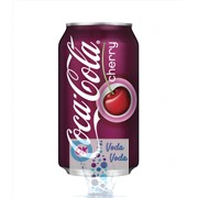 Coca-Cola Cherry (Вишня) 0,355л в банке - 12шт. в упаковке