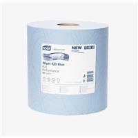 Протирочная бумага Tork Плюс в рулоне голубая (W1)