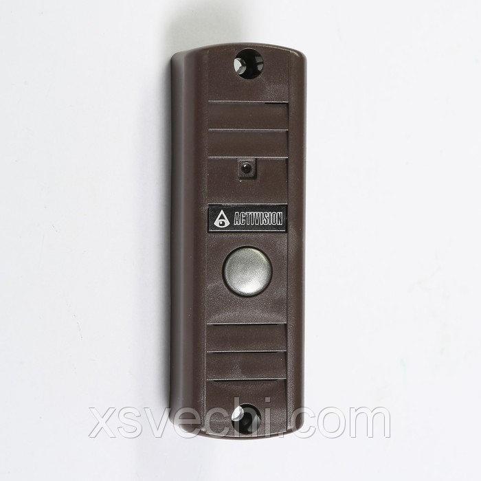 Вызывная панель Activision AVP-506, видео 420 ТВЛ, коричневая