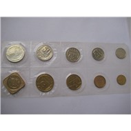 Набор монет СССР 1990 год ММД