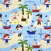 Kids / Pirates Life For Me Nautical Ткань
