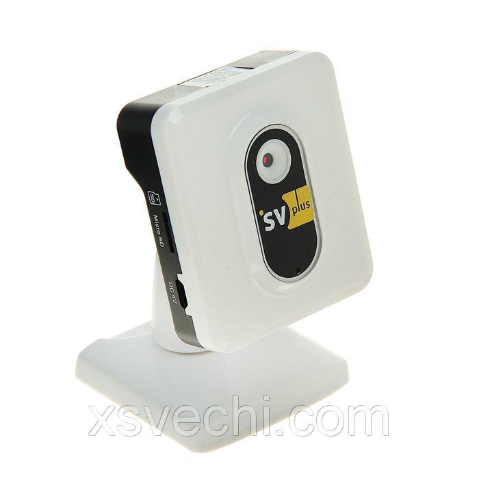 Видеокамера IP мини SVplus SVIP-C100, 1 Мп, 720 Р, Wi-fi, облако