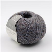 Пряжа Yak 80 Серый с голубым 701, 280м/50г, Casagrande