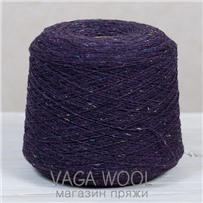 Пряжа Твид-мохер Виноград 2720, 200м/50гр. Knoll Yarns, Mohair Tweed, Grape