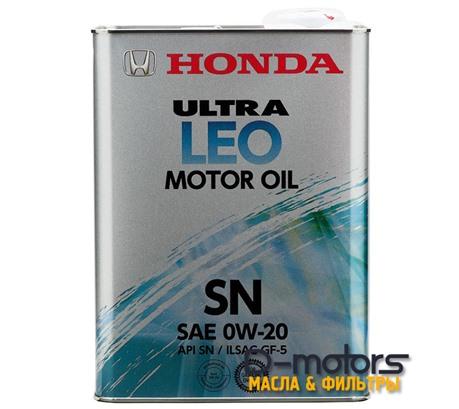 HONDA ULTRA LEO 0W-20 SN/GF-5 (4л.)