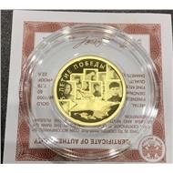 75-летие Победы 50 руб. золото