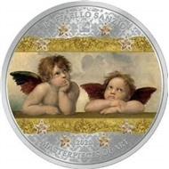 Рафаэлло Санцио - Ангелы Сикстинская мадонна